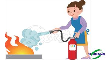 bình chữa cháy gia đình