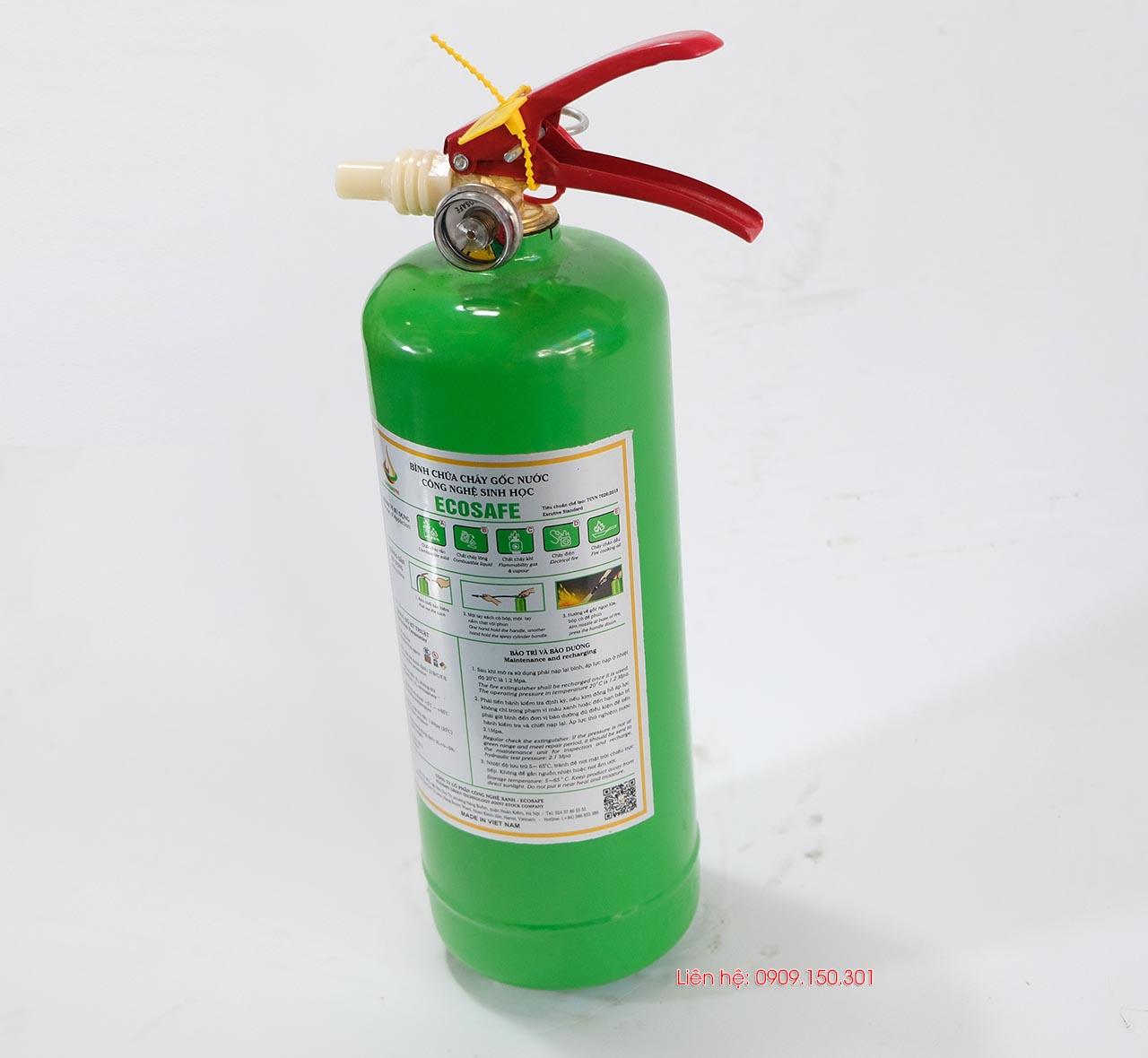 bình chữa cháy Ecosafe 2 lít