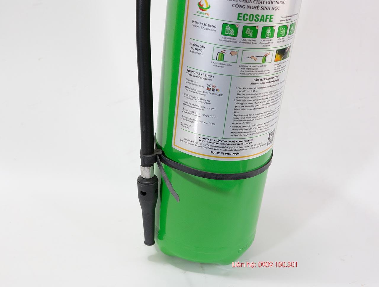 bình chữa cháy ABCDE 6 lít