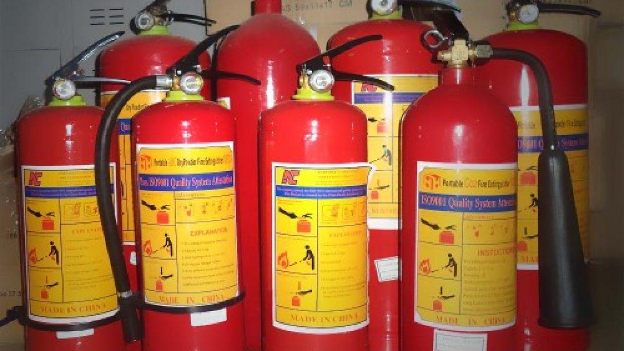 Hạn sử dụng bình chữa cháy bao lâu