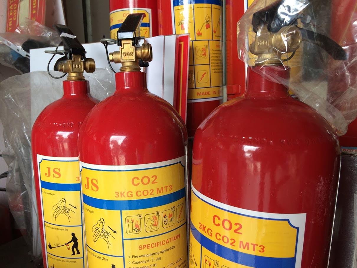 Tác dụng chữa cháy của khí co2