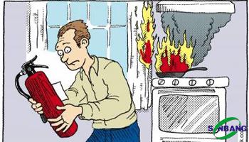 nhớ rằng bạn đã biết sử dụng bình chữa cháy như thế nào