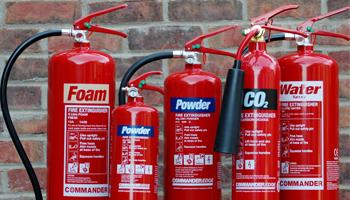 Bán bình chữa lửa sử dụng đa năng trên nhiều đám cháy