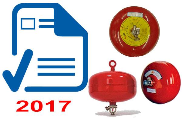 Báo giá quả cầu chữa cháy tự động XZFTB new 2017