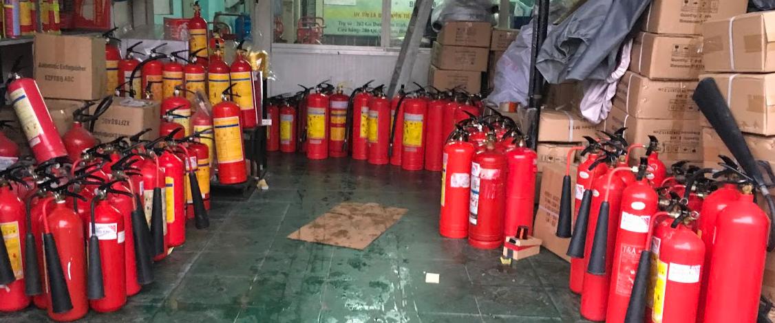 Catalogue thông số kỹ thuật bình chữa cháy Trung Quốc