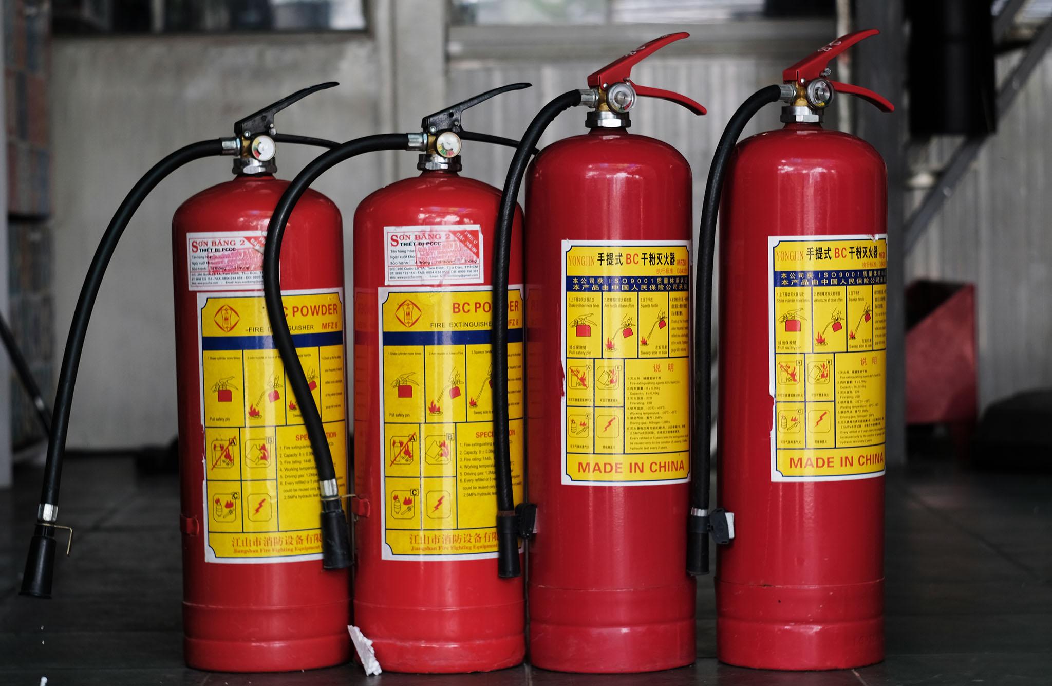 Công ty bán bình chữa cháy tại Bình Dương