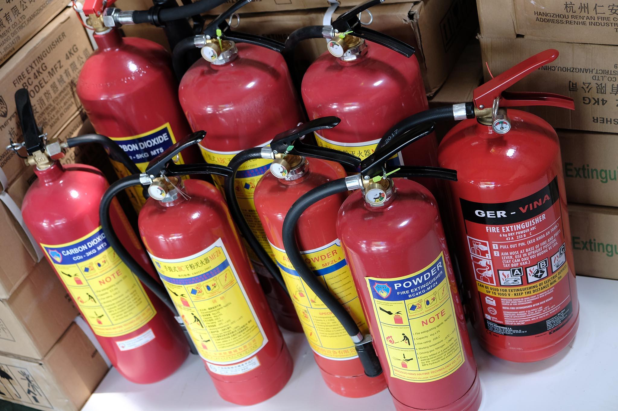 Nơi bán bình chữa cháy ở Đăk Nông giá rẻ