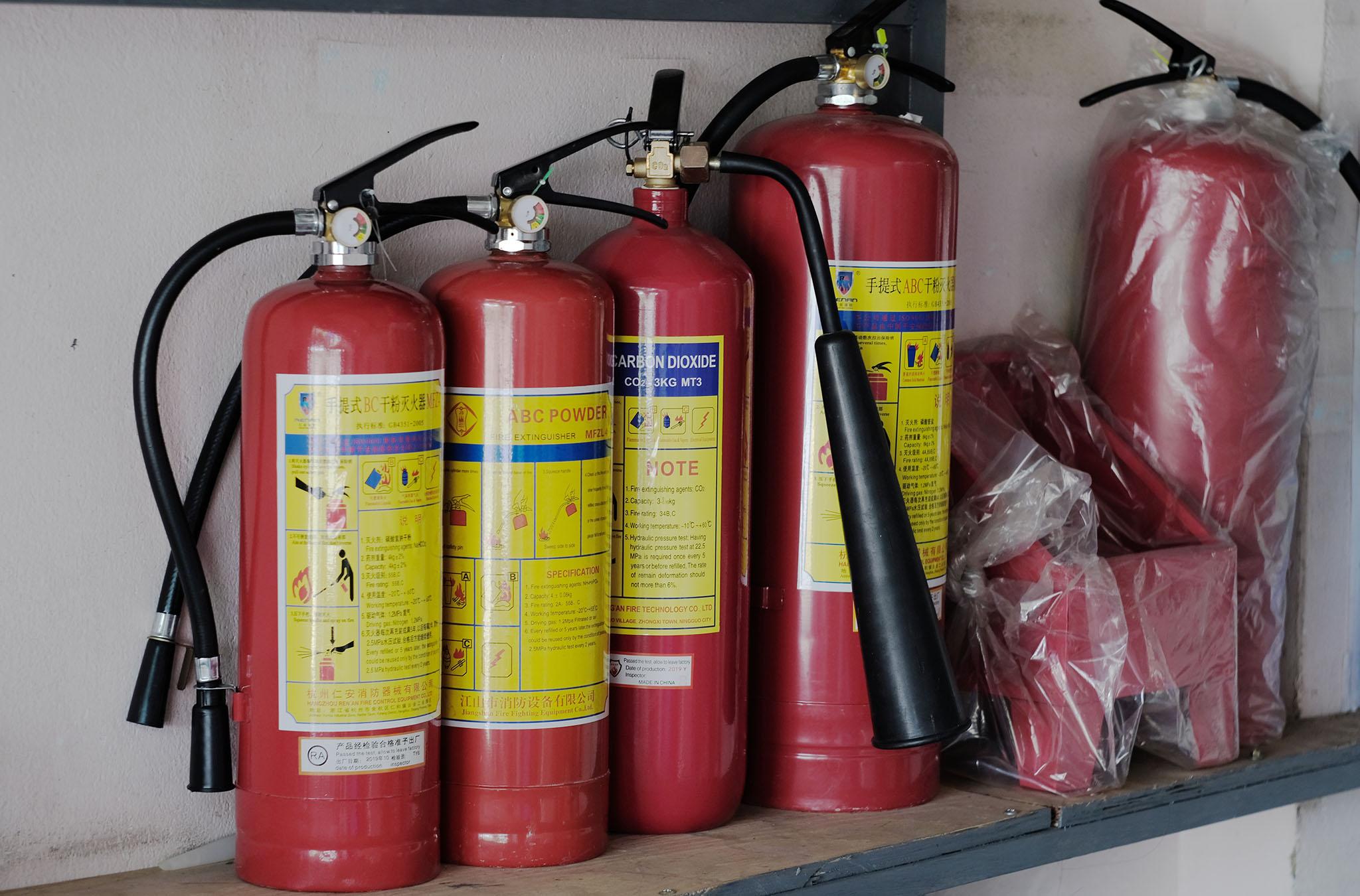 Bình chữa cháy Hậu Giang, thiết bị PCCC ở Hậu Giang