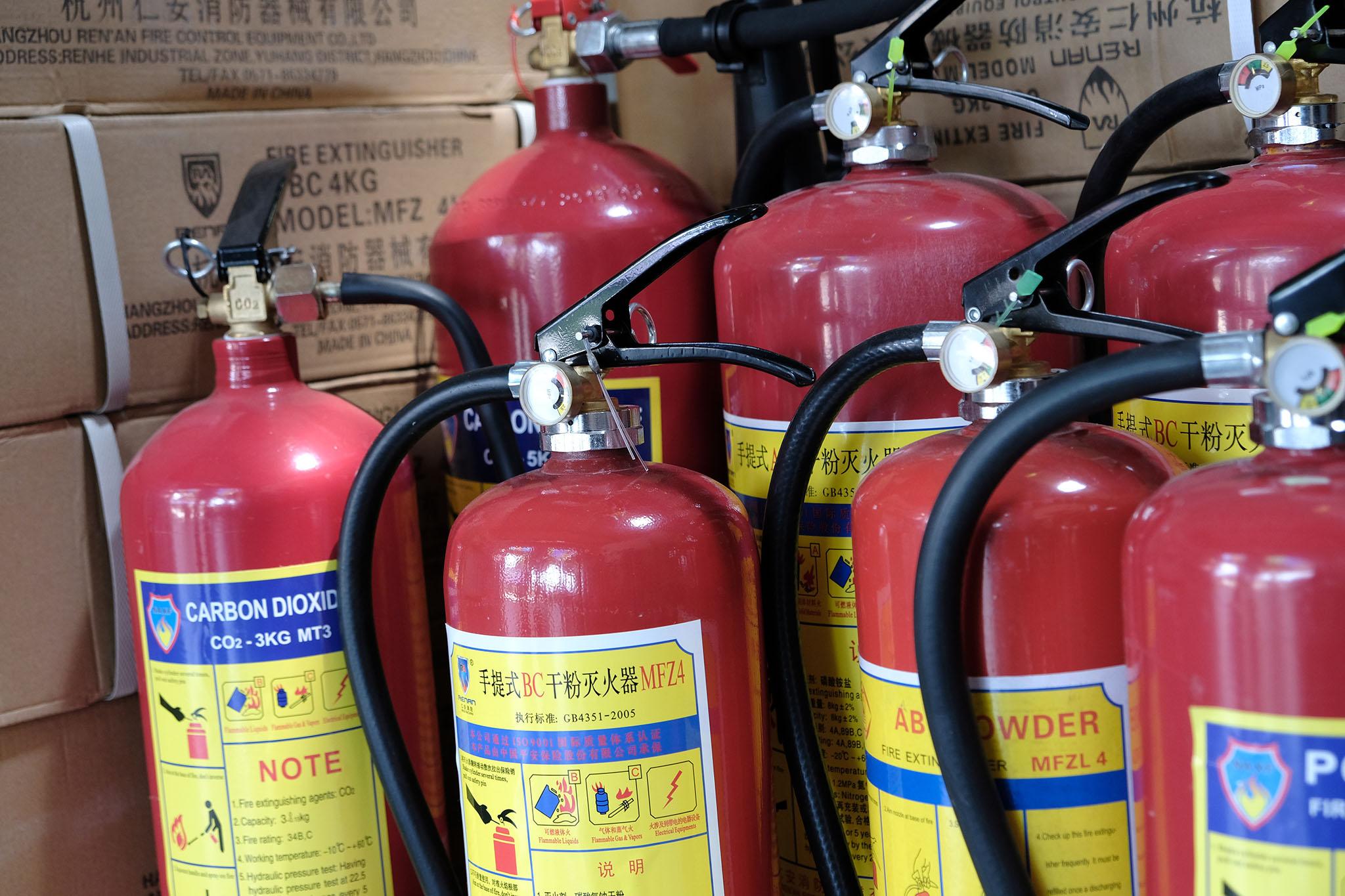 Đặt mua bình chữa cháy tại Kiên Giang