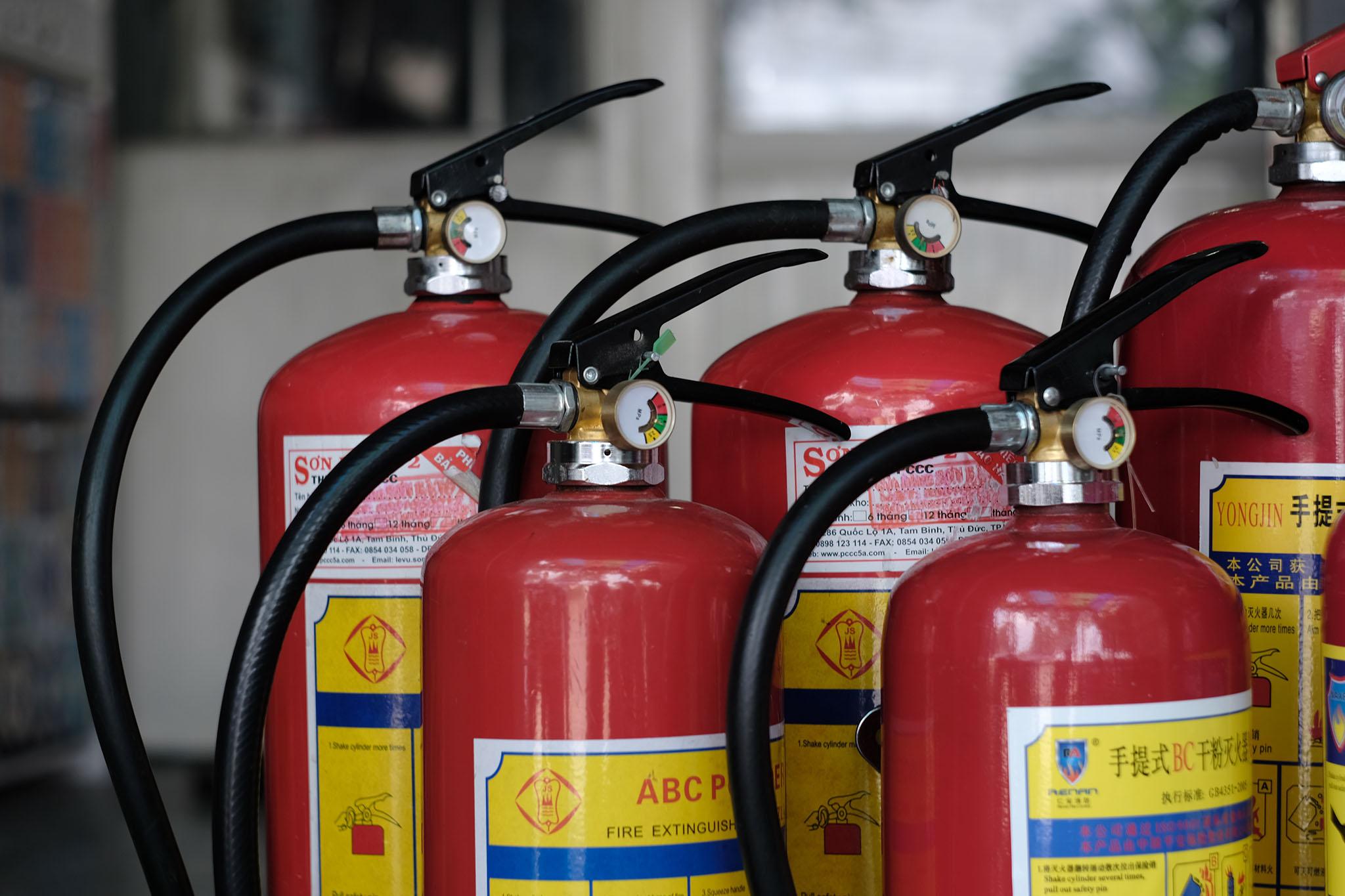 Tổng đại lý bình chữa cháy tại Lâm Đồng chính hãng