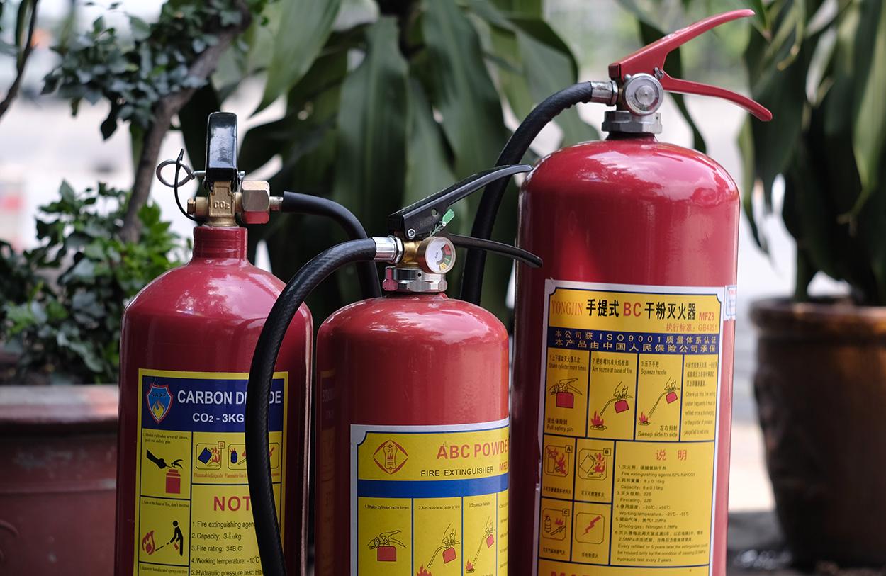 Doanh nghiệp bình chữa cháy tại Long An