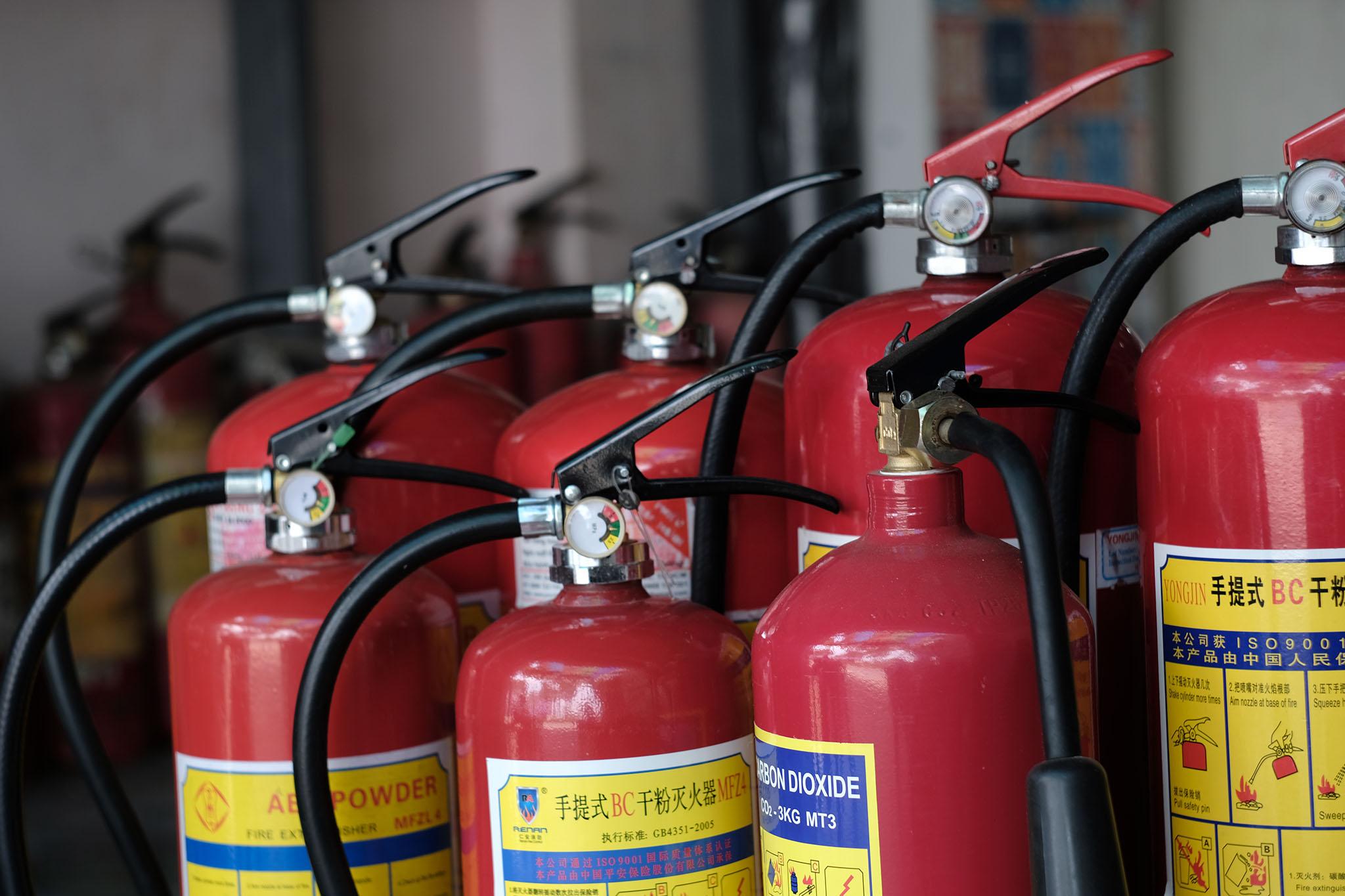 Công ty cung cấp bình chữa cháy ở Ninh Thuận