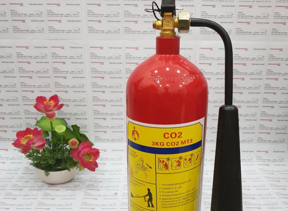 Giải đáp ký hiệu trên bình chữa cháy mã số mt3 là gì?