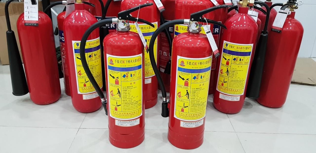 Bình chữa cháy mfz4 số 4 nói lên điều gì?