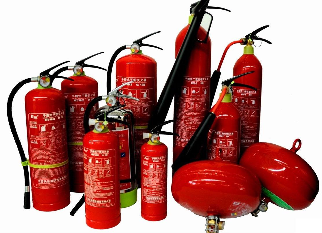 Bình chữa cháy gồm mấy loại, công dụng của từng loại?