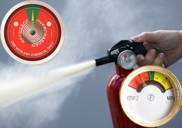 Bình chữa cháy hết áp suất cần phải làm gì?