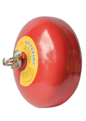 bình chữa cháy tự động hình cầu treo trần 8kg