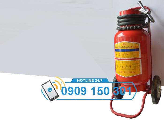 Bình chữa cháy bột BC MFTZ35 35kg CÓ XE ĐẨY ảnh 2