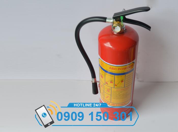 Bình chữa cháy bột aBC MFZl4 4kg LOẠI TỐT ảnh 1