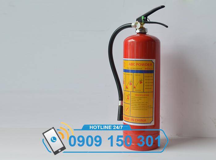 Bình chữa cháy bột aBC MFZl4 4kg LOẠI TỐT ảnh 2