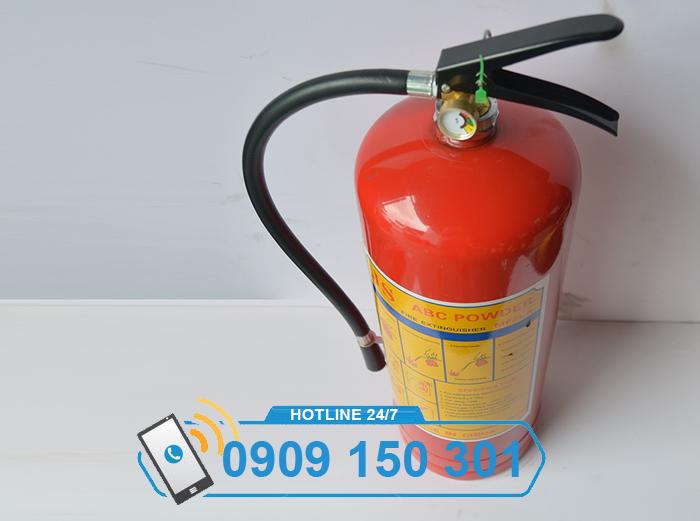 bình chữa cháy bột ABC MFZL8 8kg loại xách tay ảnh 1