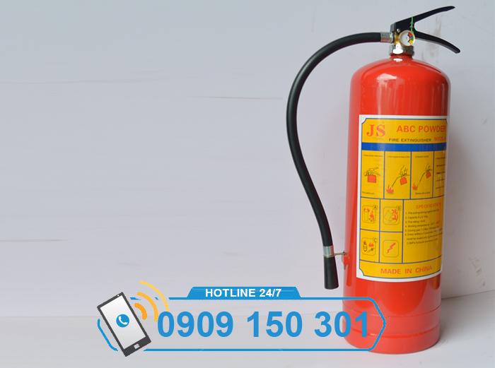 bình chữa cháy bột ABC MFZL8 8kg loại xách tay ảnh 3