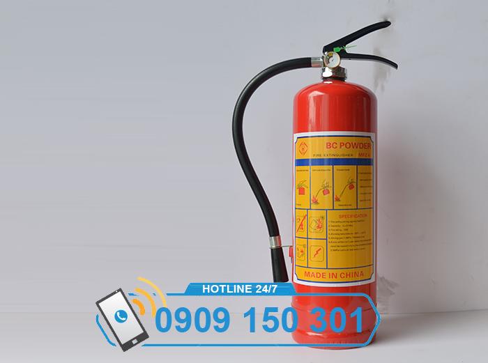 Bình chữa cháy bột BC MFZ4 4kg GIÁ RẺ ảnh 1