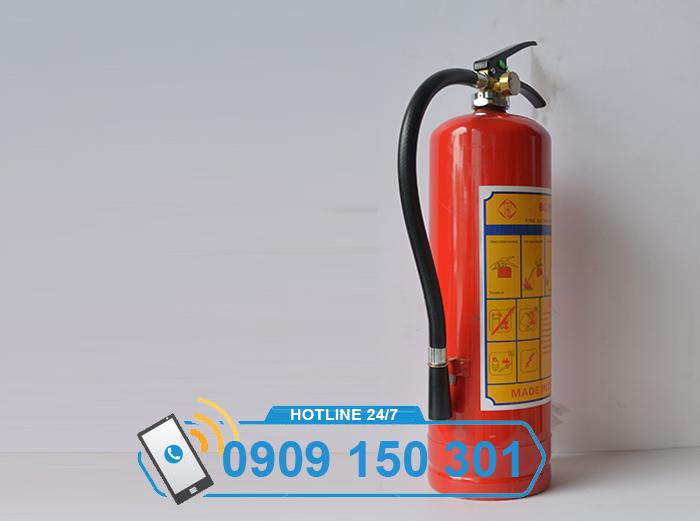 Bình chữa cháy bột BC MFZ4 4kg GIÁ RẺ ảnh 4