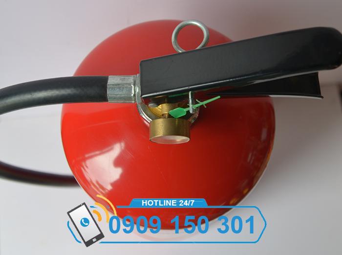 Bình chữa cháy bột BC MFZ8 8kg GIÁ RẺ ảnh 1