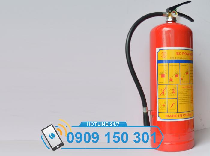 Bình chữa cháy bột BC MFZ8 8kg GIÁ RẺ ảnh 3