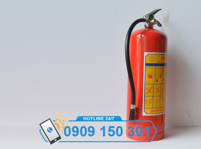 Bình chữa cháy bột BC MFZ8 8kg GIÁ RẺ ảnh 4