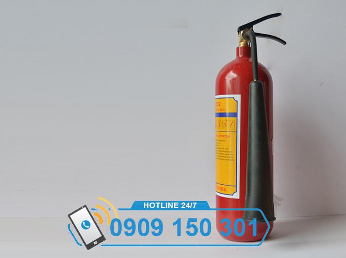 Bình chữa cháy khí CO2 MT3 3kg LOẠI TỐT ảnh 1