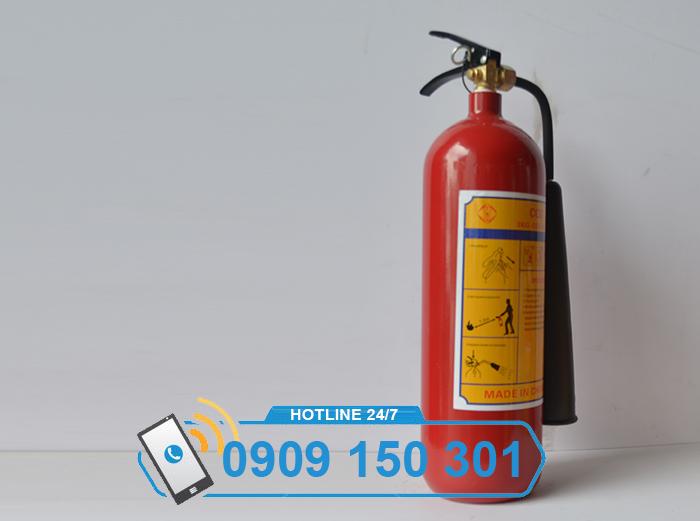 Bình chữa cháy khí CO2 MT3 3kg LOẠI TỐT ảnh 2