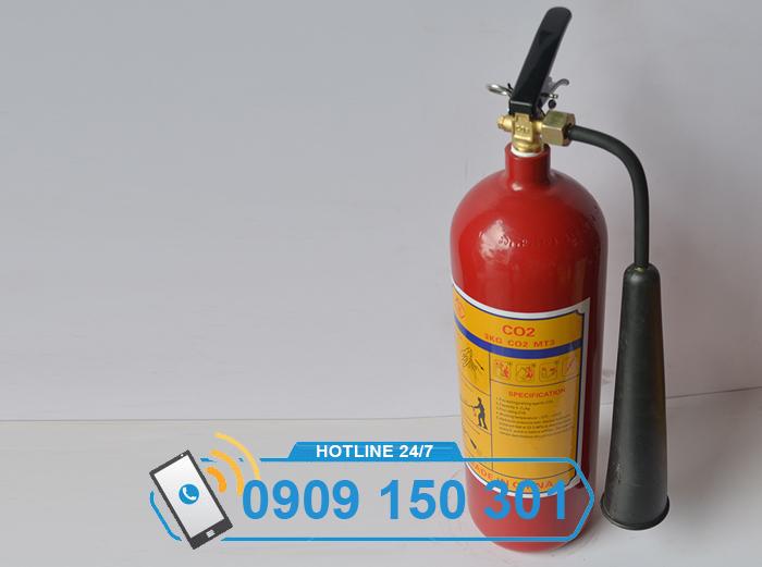 Bình chữa cháy khí CO2 MT3 3kg LOẠI TỐT ảnh 3