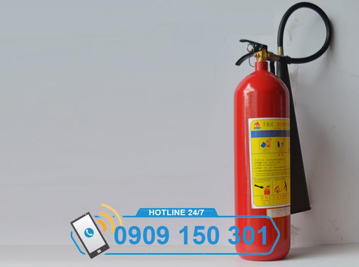 Bình chữa cháy khí CO2 MT5 5kg LOẠI TỐT ảnh 1