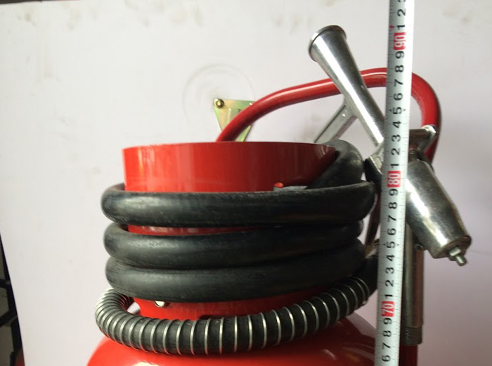 Bình chữa cháy bột BC MFTZ35 cao bao nhiêu?