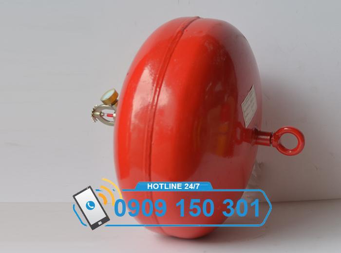 Quả cầu chữa cháy tự động XZFTB6 6kg bột ABC ảnh 3