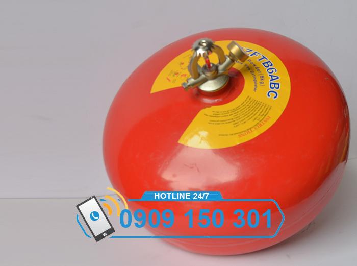 Quả cầu chữa cháy tự động XZFTB6 6kg bột ABC ảnh 4