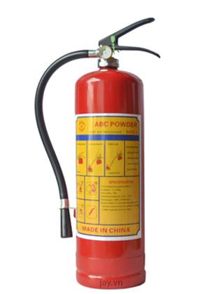 Bình chữa cháy bột ABC MFZl4 4kg LOẠI TỐT