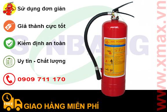 Ưu điểm khi dùng bình bột chữa cháy xăng dầu